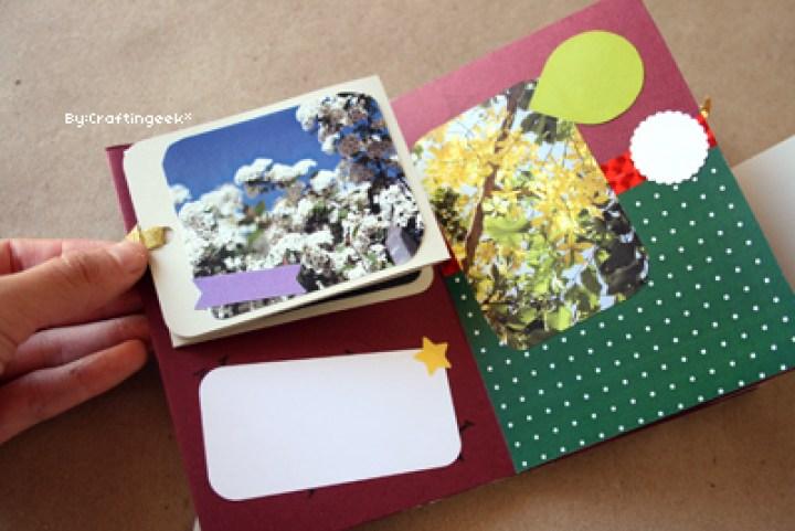 Minibook que puedes hacer para regalar