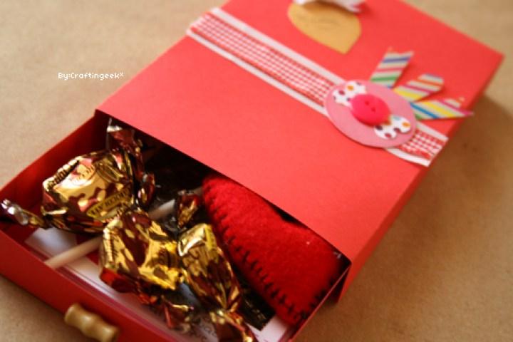 Cajon de regalos y dulces que puedes hacer tu mismo