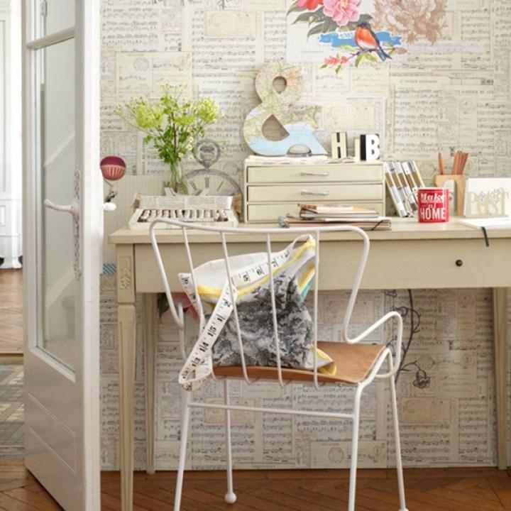 country-home-office-18 lo mejor de craftingeek