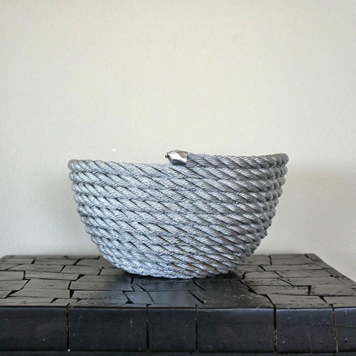 diy rope bowl 7