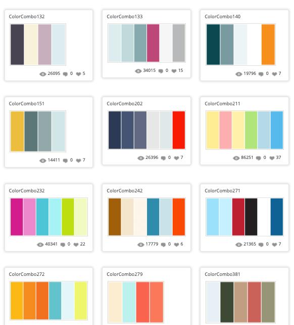Cómo hacer combinaciones de colores