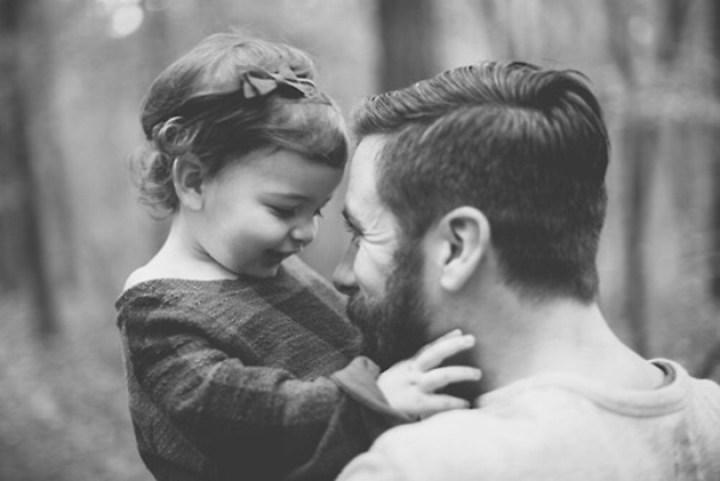 Padre-e-hija amor
