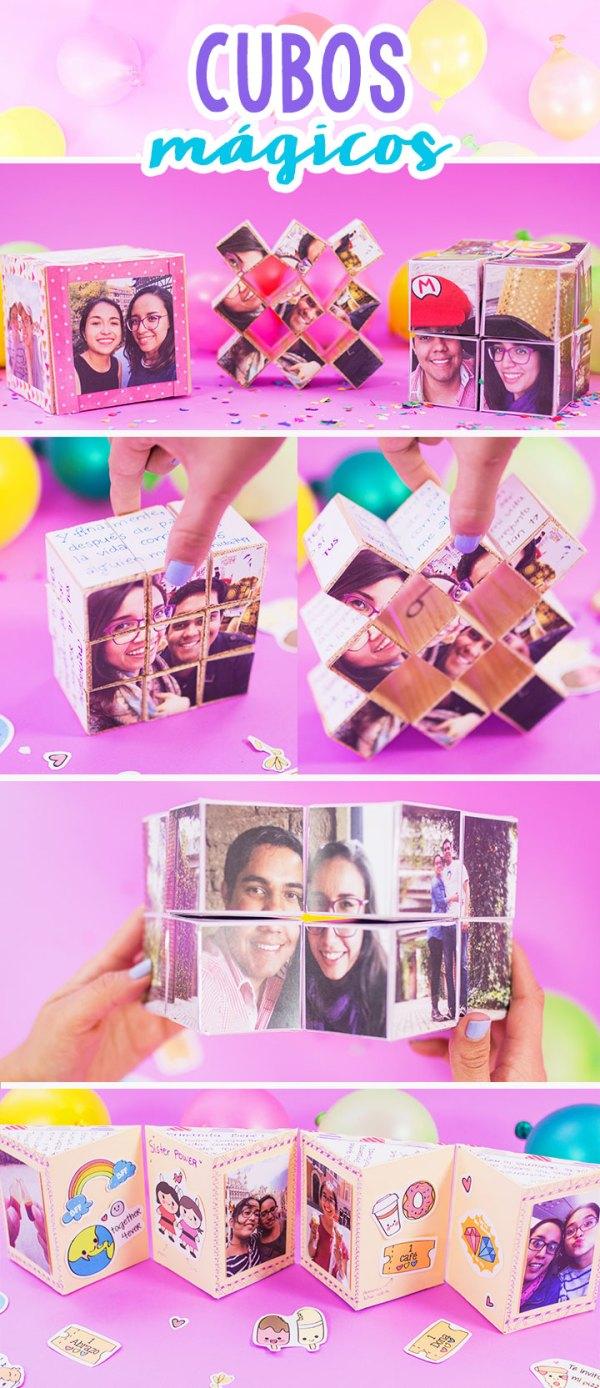 ideas para regalos: cubos mágicos