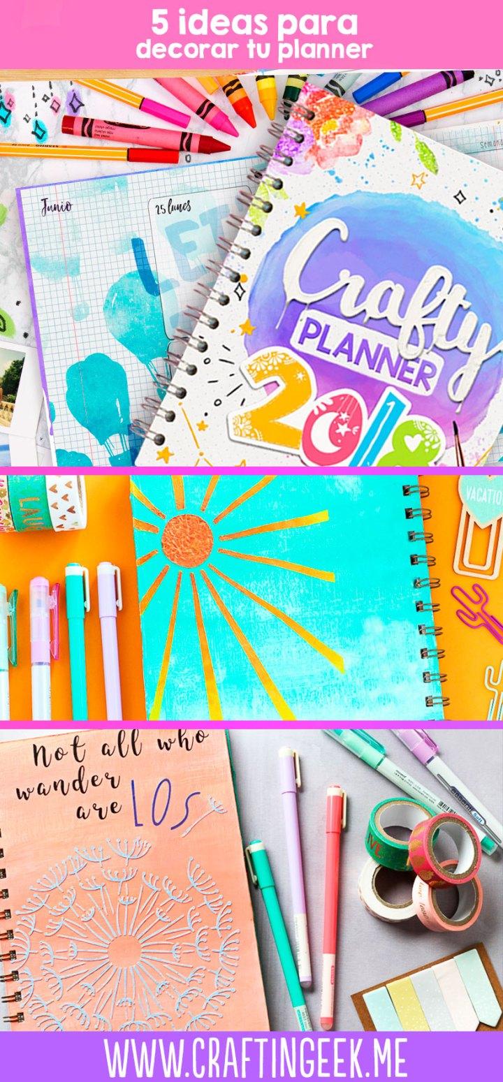 ideas para personalizar la crafty planner