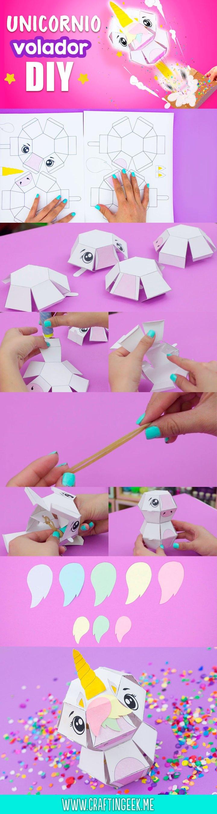 tarjeta explosiva unicornio