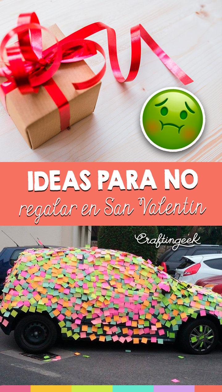 regalos que no deben dar en san valentin