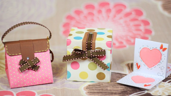 bolsa caja tarjeta dia de las madres