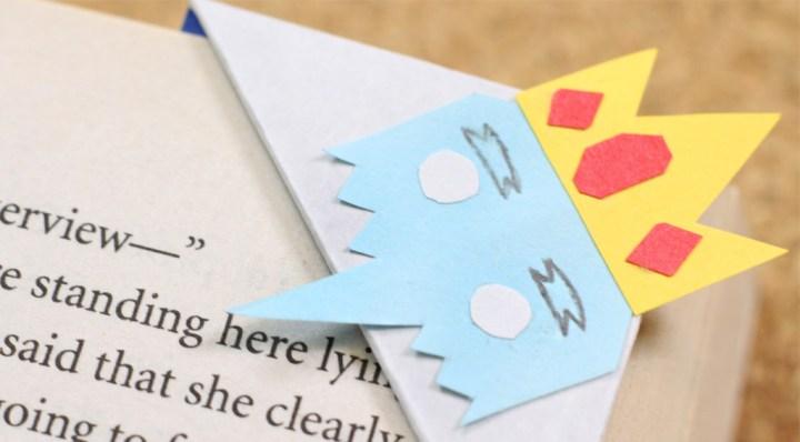 manualidad-de-papel-separador-origami-hora-aventura
