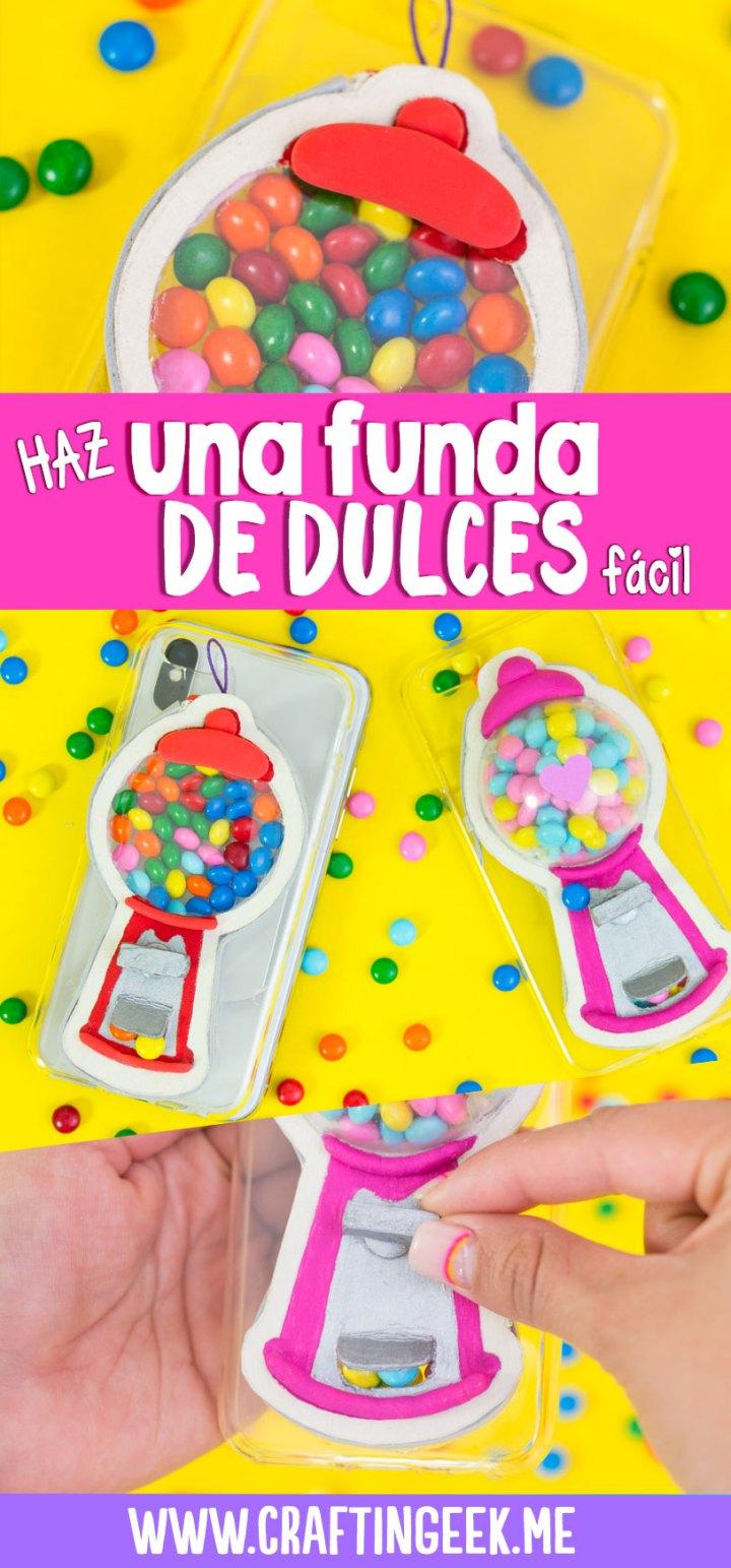 transforma tu funda para celular en maquina de dulces