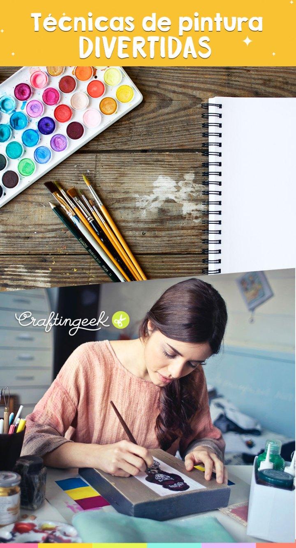 diferentes tecnicas de pintura