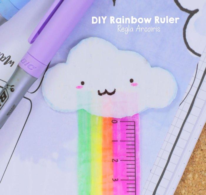 Cómo hacer una regla con popotes o pajillas