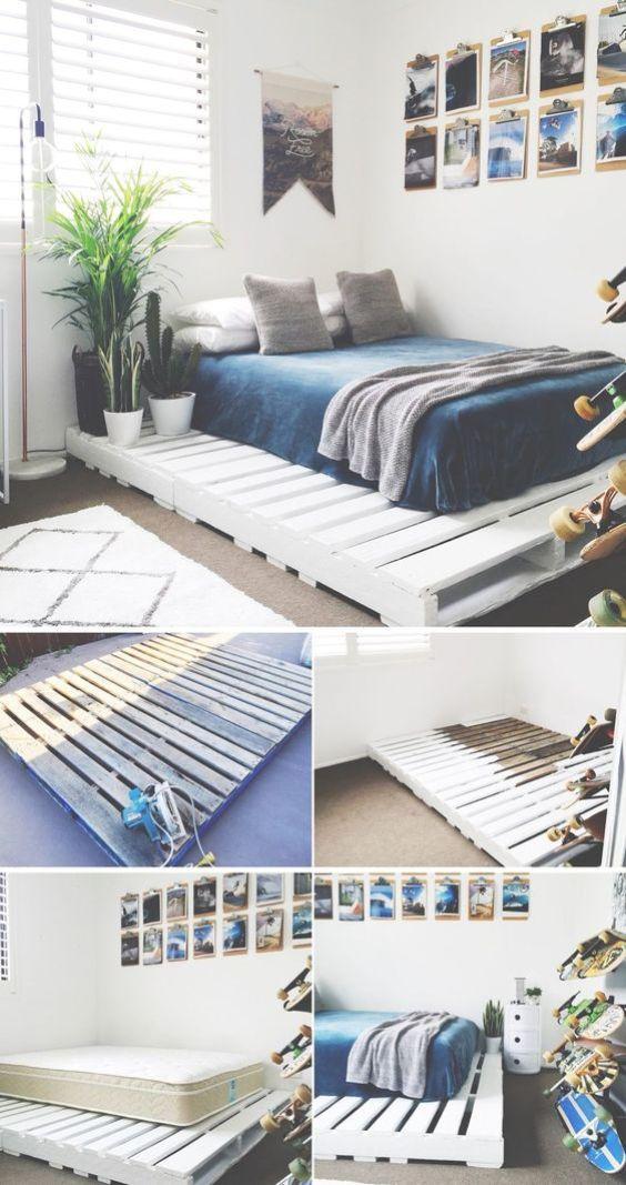 5 razones para querer una cama de palets
