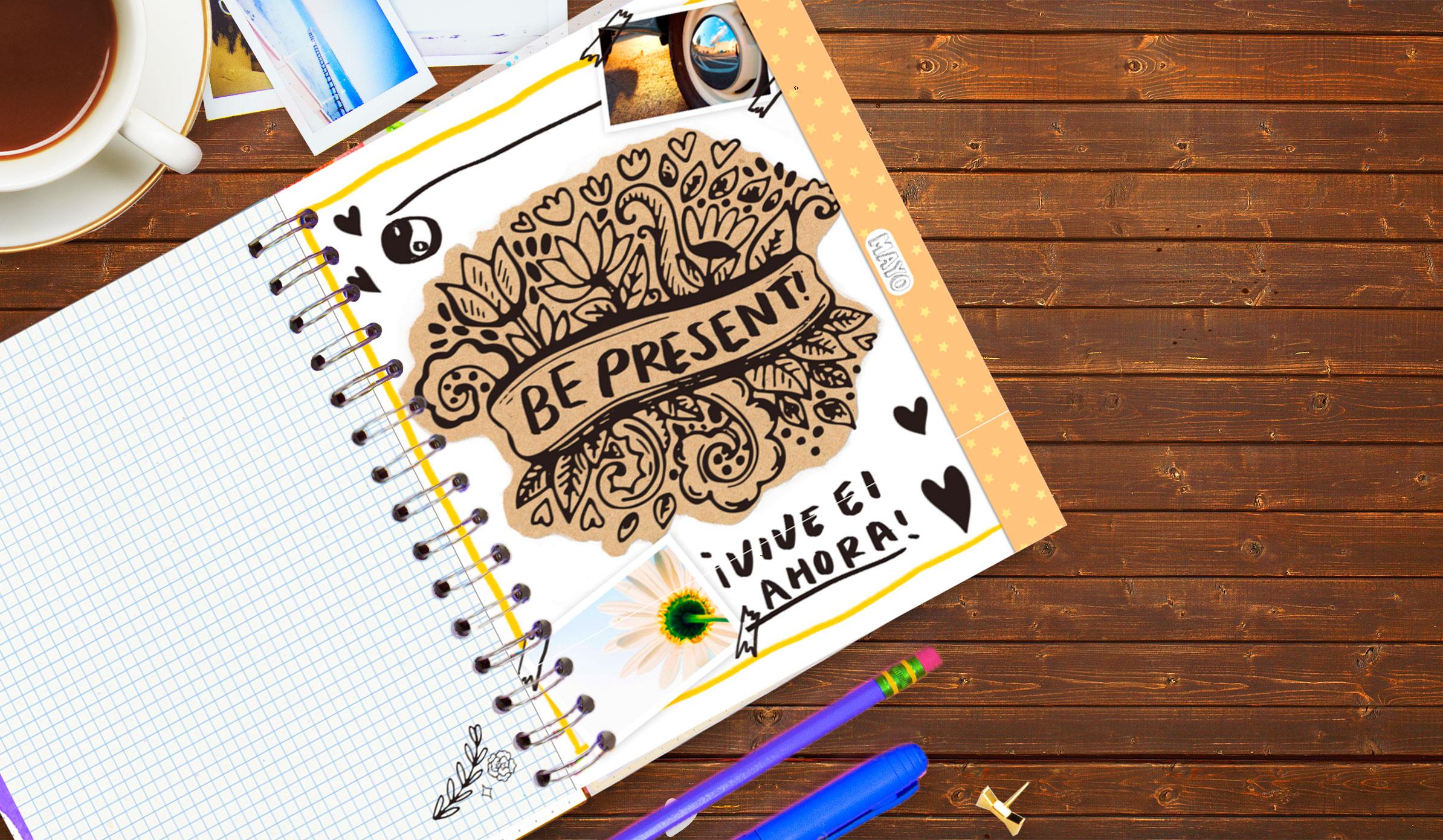 ¡Vive el ahora! Motivación diaria en tu Crafty Planner