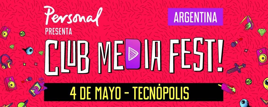 ¡Estaré en Club Media Fest Argentina este año!.Este genial evento será el 4 de mayo es uno de los festivales más importantes del mundo. Puedes comprar boletos aquí para que nos conozcamos   I will be at Club Media Fest Argentina this year! This great event will be on May 4th, it's one of the most important festivals in the world. You can buy tickets here.