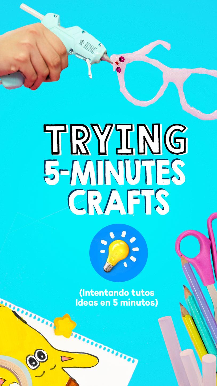 Seguí un tutorial de ideas en 5 minutos.