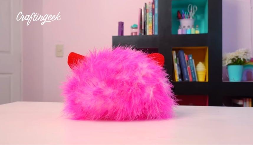 almohada de gatito