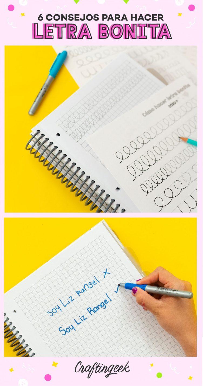 Como hacer la letra bonita.