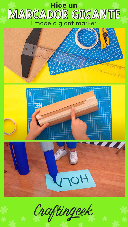 Como hacer un marcador gigante paso a paso_Portada