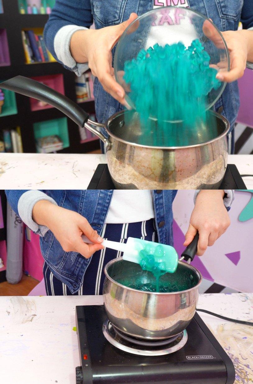 Como hacer un osito de gomita gigante_hidrata