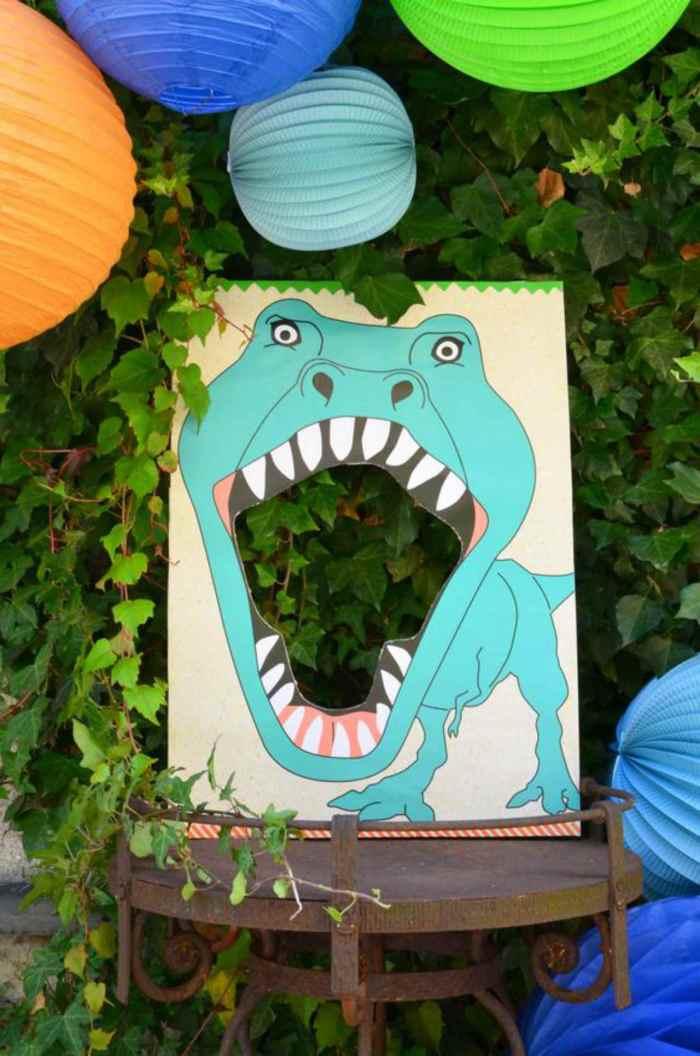 Decoración de fiesta de dinosaurios