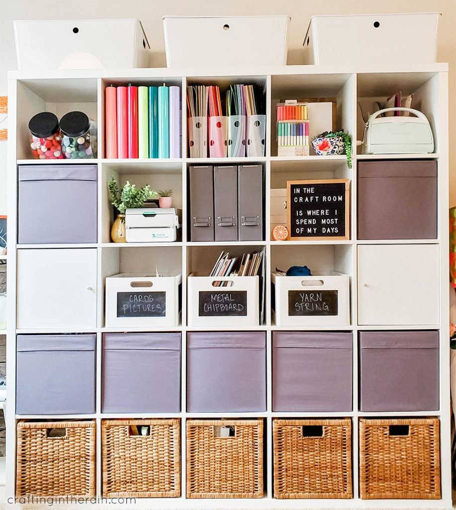 How To Organize A Craft Room Crafting In The Rain