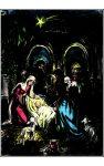 10075 Advent Nativity Scene