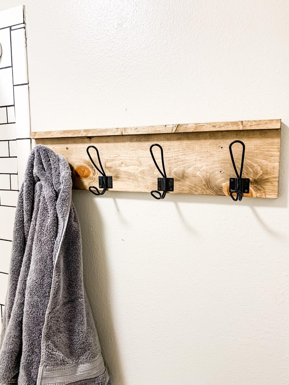 Farmhouse Towel Rack DIY