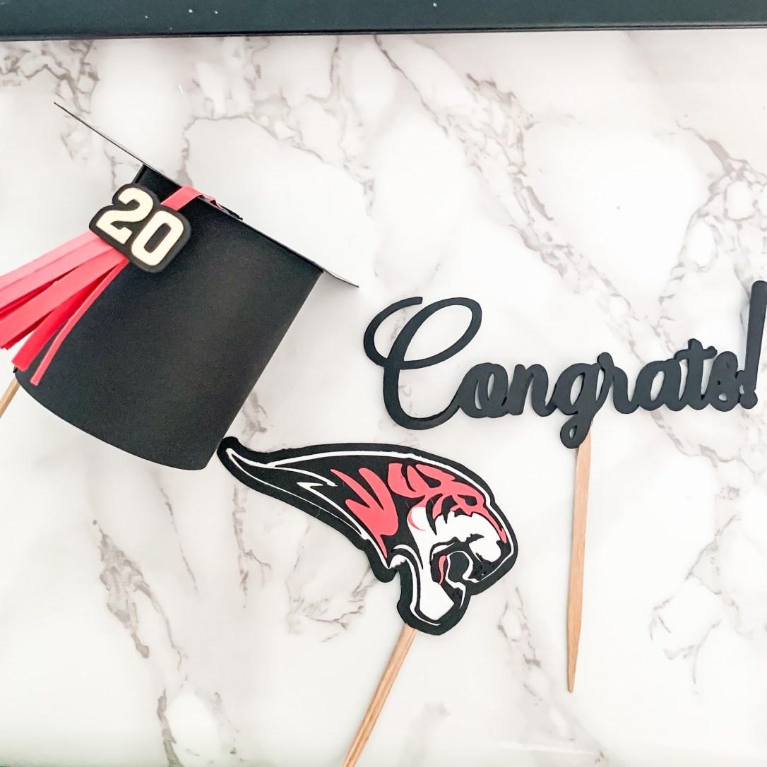 graduation cake topper