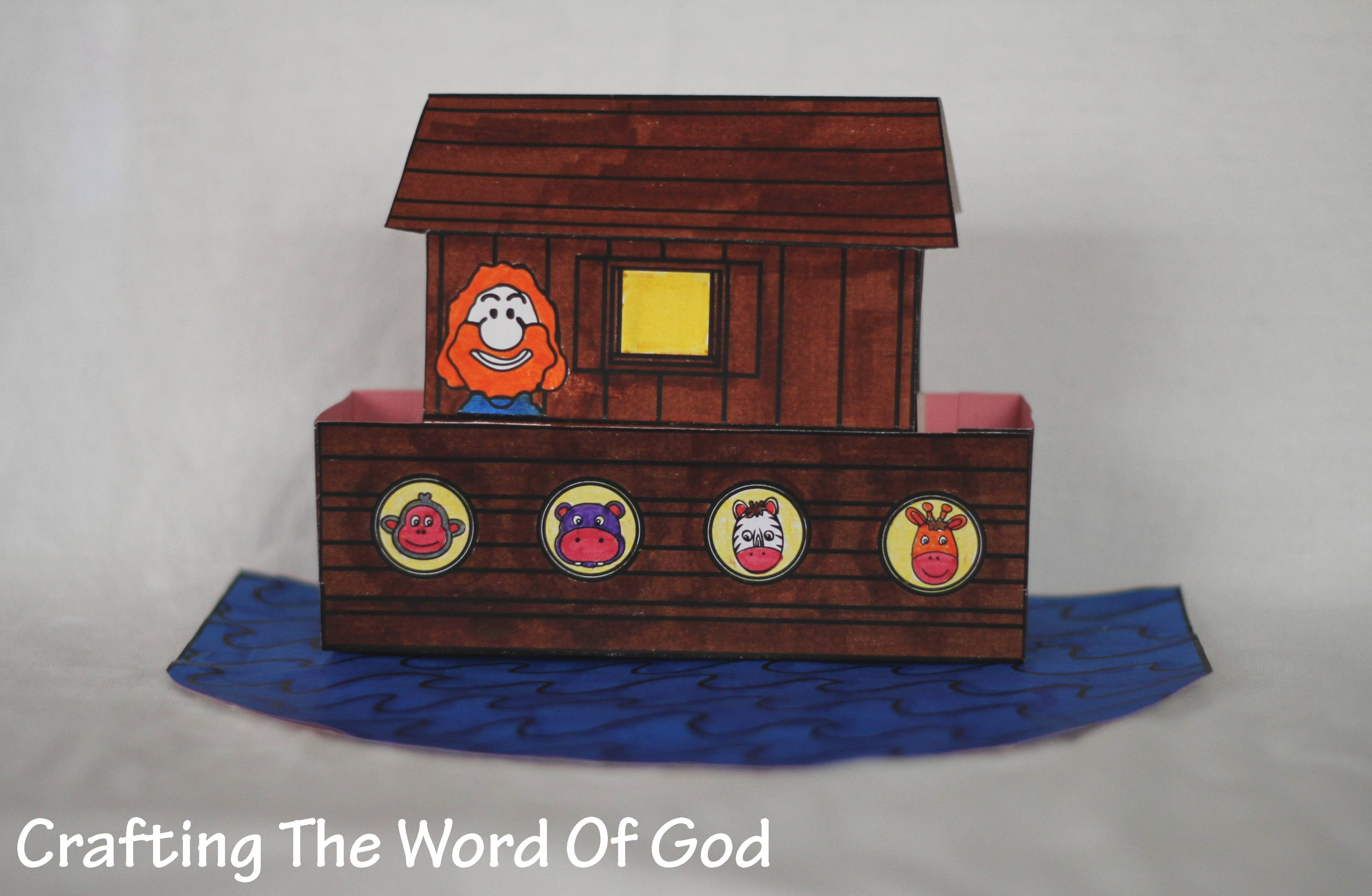 Noah Crafting The Word Of God