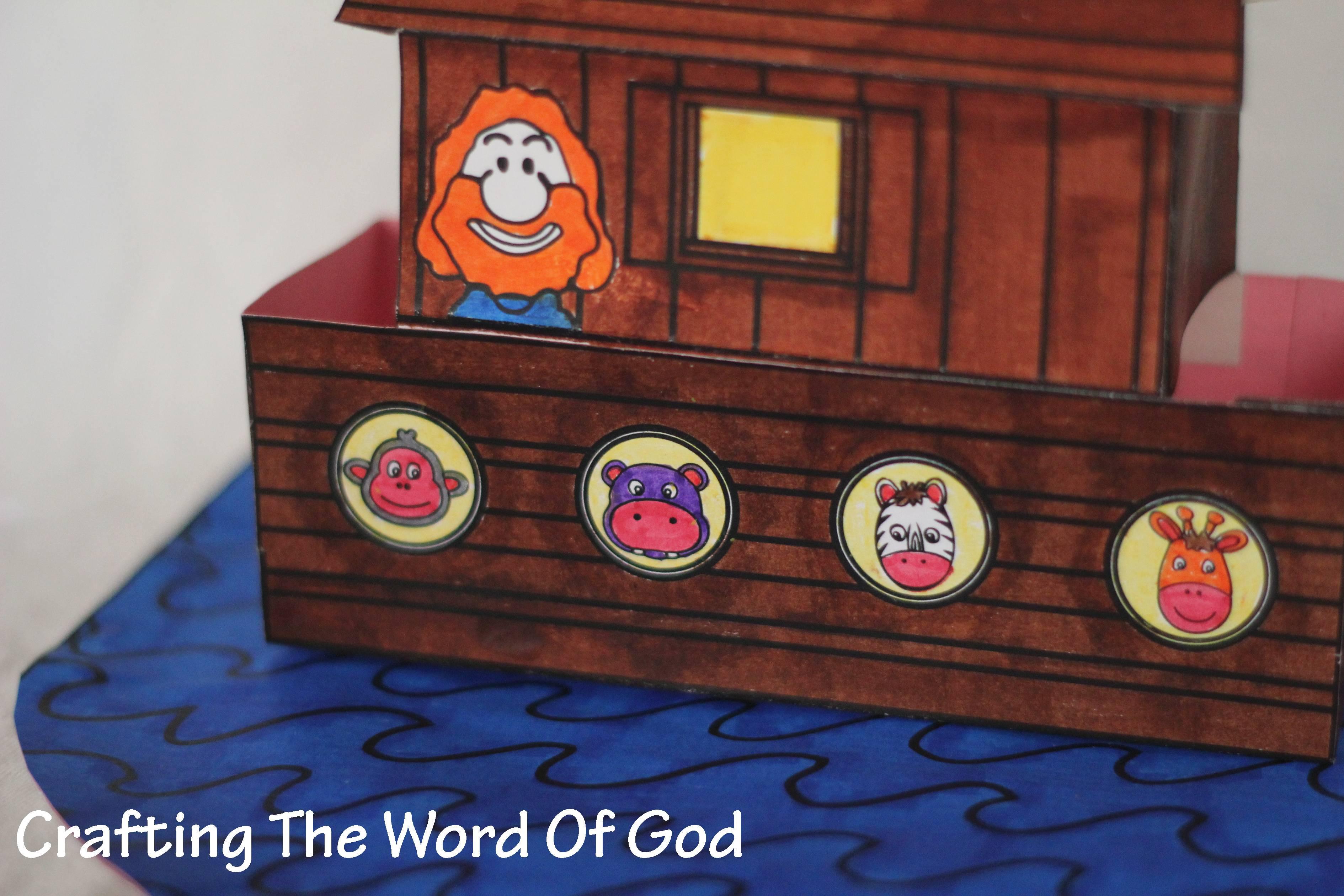 Noahs Ark Crafting The Word Of God