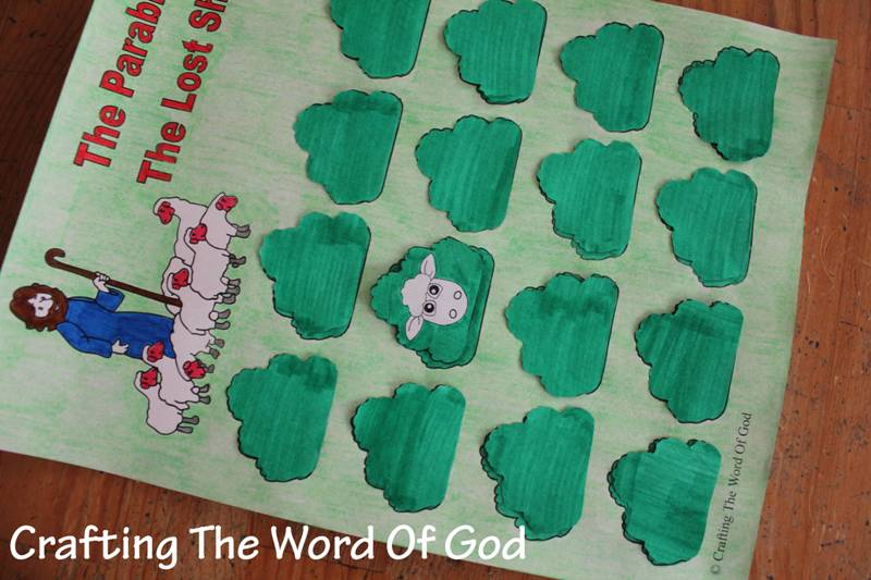 The Parable Of The Lost Sheep Game Crafting The Word Of God