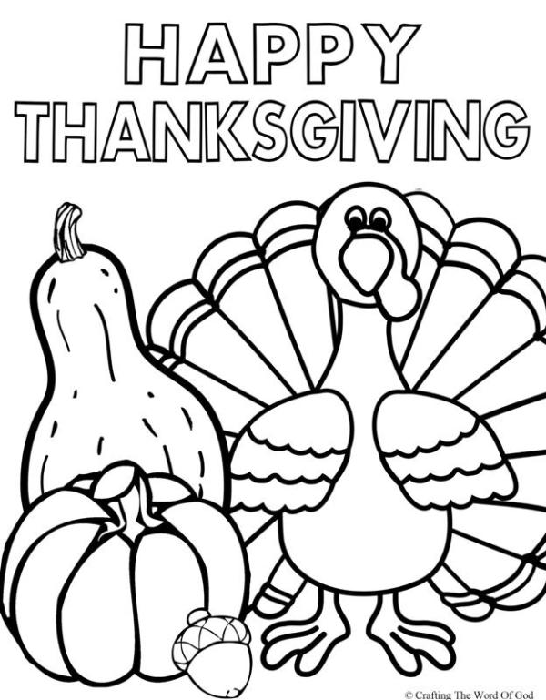 thanksgiving coloring pages # 6