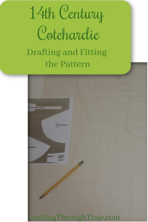 14th Century Cotehardie – Drafting the Pattern