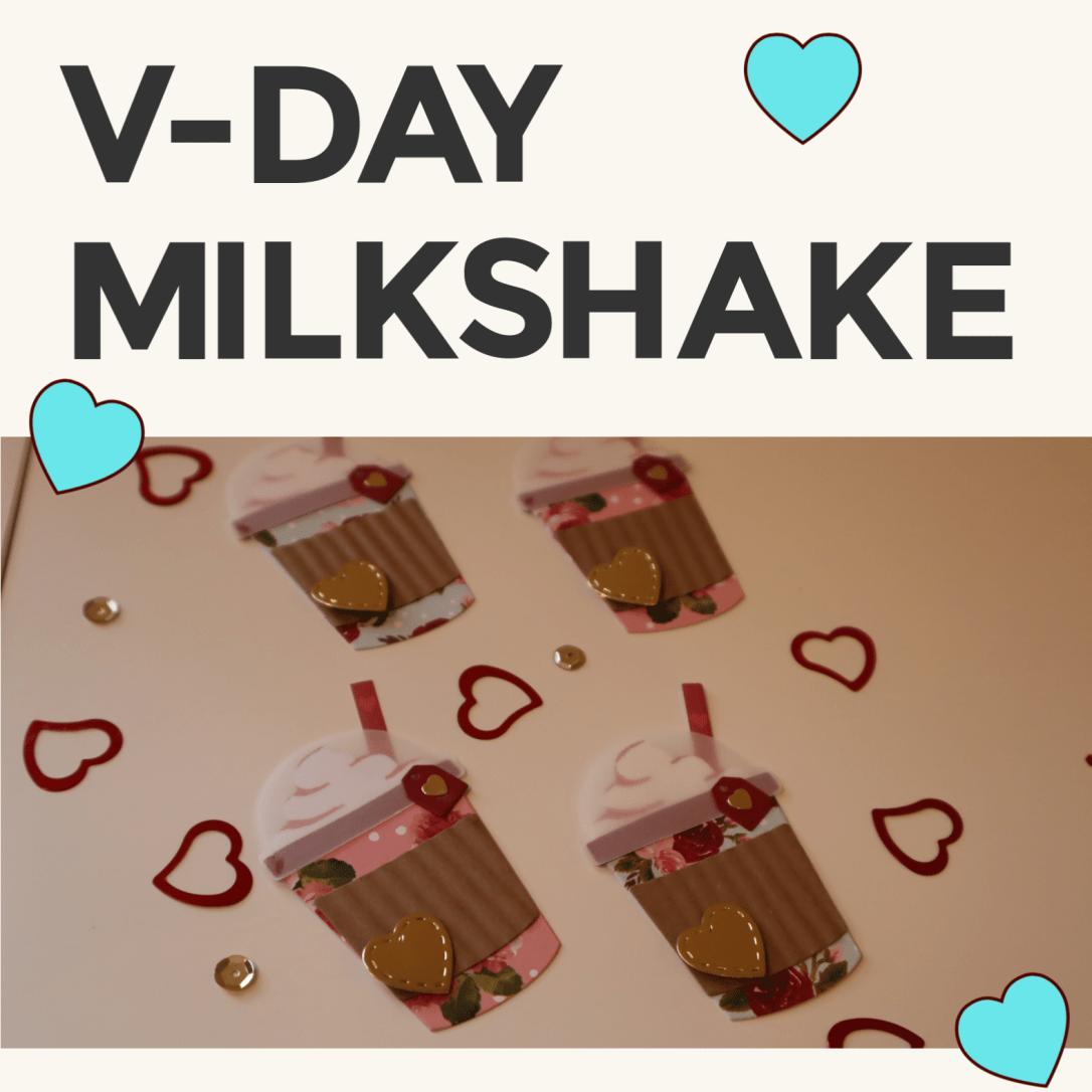 Valentine's Day Embellishments - Milkshakes