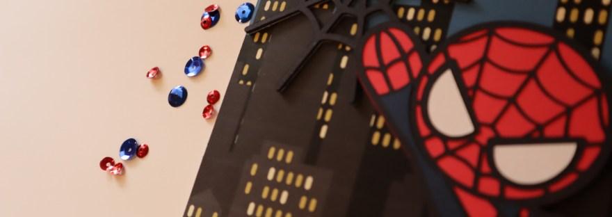 Spiderman Birthday Card www.craftinitime.com