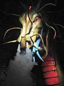 Dragon in Cox's Cave