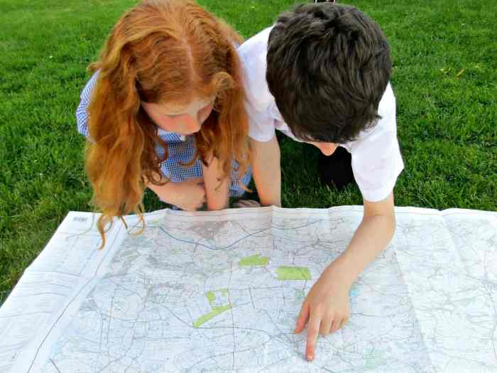 A custom made map allows you to choose your own centre point, scale and can even customise the cover with your own images and wording. A brilliant way to introduce kids to map reading, and a fabulous, original gift.