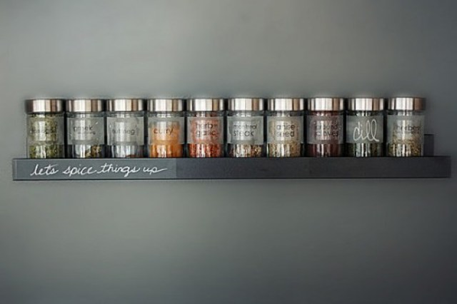organize spices