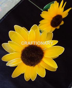 nylon-sunflowers-tutorial