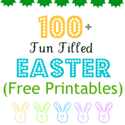 Easter free printables