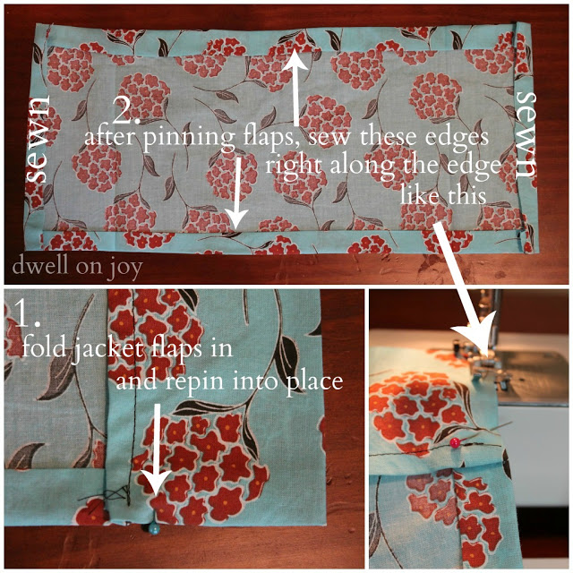 sewing project cover