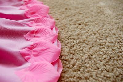 petals skirt diy tutorial