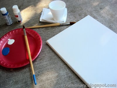 how to use acrylic paints