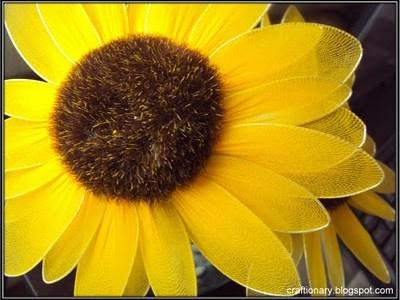 make-nylon-sunflowers