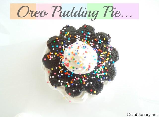 oreo pudding pie dessert