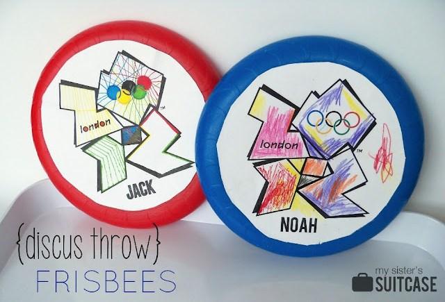 Kids Frisbee Olympics 2012