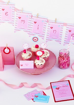 valentines day be mine party printables