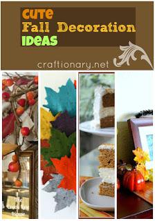 cute fall ideas- decorating