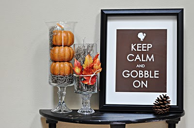 keep calm and gobble on thanksgiving