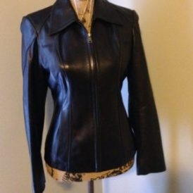 faux leather jackets for women